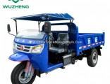 Chinese Waw Diesel Dump Right Hand Drive Tricycle for Sale
