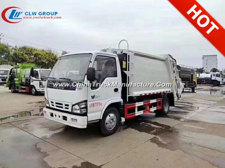 Brand New ISUZU 6CBM Garbage Truck For Sale