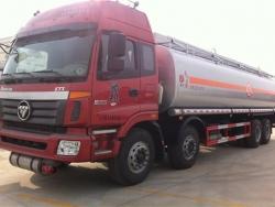 Foton 8*4  oil tanker truck