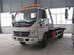 FOTON 4X2 Flatbed Wrecker Tow Truck