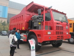 HOWO 75tons mining dump truck