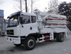 pump trucks concrete delivery vehicles