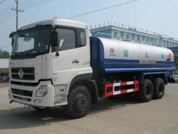 tianlong 6x4 left steering 20000 liter water tank truck