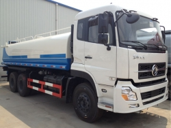 dongfeng 20m3 water tank truck