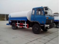 Dongfeng 12000 liter water tank truck