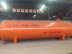 condition export to africa horizontal lpg storage tank