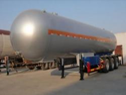 58.5m3 25ton tri-axle lpg trailer