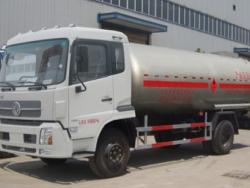 DONGFENG 4x2 15M3 LPG truck tanker