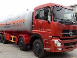 DONGFENG 8X4 35.5M3 LPG tanker