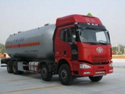 FAW 8X4 35.5M3 LPG tanker transportation truck