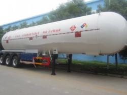 certification 58.5m3 lpg tank trailer