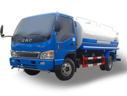 JAC small water tanker truck