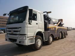 China 50ton heavy duty rotator tow truck