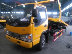 JAC rollback tow truck