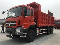 heavy duty Euro 3 Dongfeng 6x4 diesel 30 ton dump truck