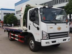FAW 2 axles wrecker truck