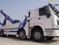 HOWO 4 axles wrecker truck