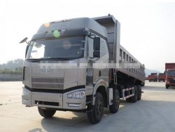 faw J6P 8X4 dump truck with 12 wheels