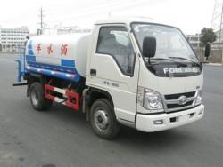 foton mini water tank truck