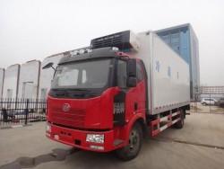 faw J6F 4x2 small refrigerator truck