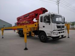 dongfeng 4X2 33m concrete pump truck