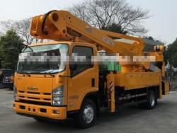 9.6T 20m aerial work platform insulation truck