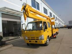 4*2 20m 9.6t aerial work platform truck