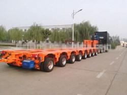 cement transportation multi-axle hydraulic truck trailer