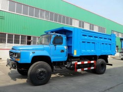 Dongfeng 4x2 10Ton Long Nose Tipper Truck