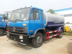 Dongfeng 4X2 10000 Liter Water Tank Truck