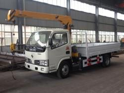 2 Ton Dongfeng 4x2 Mini Truck Mounted Crane