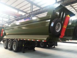 High Duty 50 Ton Loading Self Unload Trailer