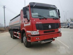 HOWO 20000Liters Chinese 6x4 Oil Tank Truck
