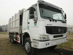 SINOTRUK compressed roll-off garbage truck