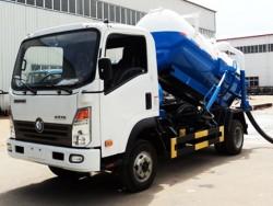 HOWO 10cbm 4x2 sewage suction truck