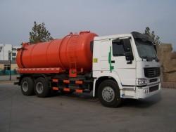 SINOTRUK HOWO 10 Wheelers Sewage Vacuum Suction Truck