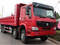 Chinese Sinotruk HOWO 12 Wheeler Tipper 50 ton Dump Truck