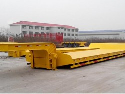 transport machines and other goods used low bed semi trailers