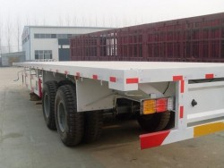 20 ft container carrier trailer