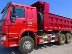 SINOTRUK heavy duty 336hp 20 tons dump trucks