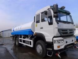 6x4 HOWO water tank truck price 20000L water truck
