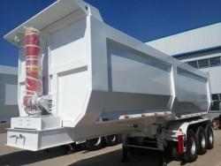 Heavy Duty 80 Ton Tri Axle rear dump Truck Trailer