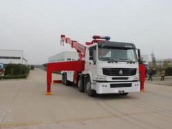 traction 40 ton 8X4 Dongfeng towing truck wrecker