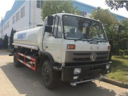 export to africa high quality dongfeng 12000 liter water tan