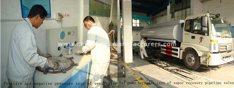 do<em></em>ngfeng 8000 liters carbon steel fuel tanker truck