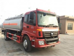 High quality carbon steel 16000 liters 4x2 foton fuel truck
