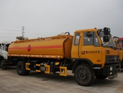 export to angola Dongfeng153 fuel tanker truck