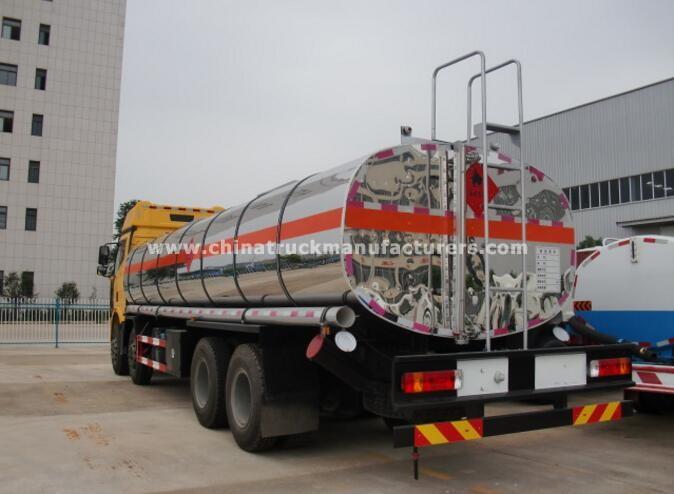 FAW 8x4 30000L oil truck