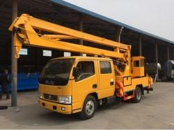 dongfeng 14m aerial work platform truck