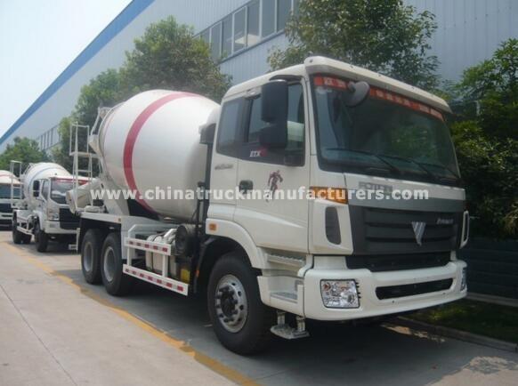 Foton 9m3 concrete mixer truck